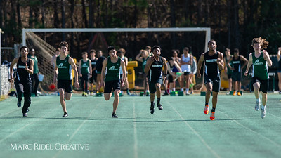 Broughton track and field at Cardinal Gibbons. March 27, 2019. D4S_5655