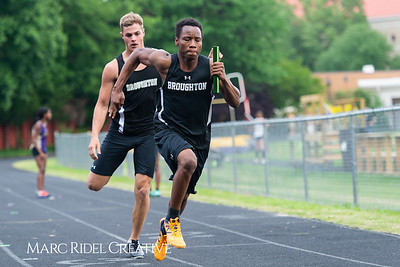 Broughton Track and Field vs Leesville. April 25, 2019. D4S_1569