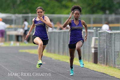 Broughton Track and Field vs Leesville. April 25, 2019. D4S_1472