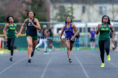 Broughton track meet vs Cardinal Gibbons and Enloe. March 4, 2020. D4S_1845