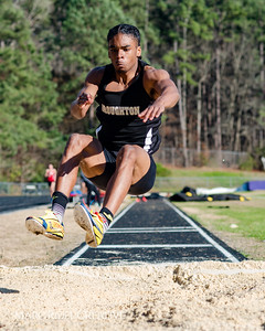 Broughton Track & Field at Sanderson. March 7, 2018