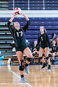 Broughton volleyball vs. Enloe. August 18, 2018