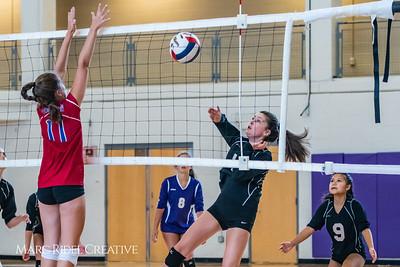 Broughton volleyball vs Sanderson. September 4, 2018.