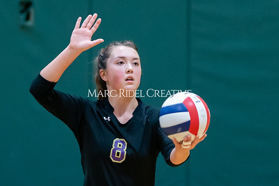 Broughton volleyball Cap-7 champion tiebreaker match vs Cardinal Gibbons. October 23, 2019. D4S_9472