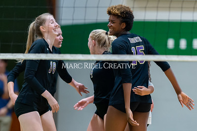 Broughton volleyball Cap-7 champion tiebreaker match vs Cardinal Gibbons. October 23, 2019. D4S_9379