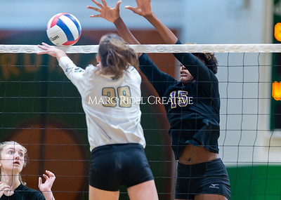Broughton volleyball Cap-7 champion tiebreaker match vs Cardinal Gibbons. October 23, 2019. D4S_9389