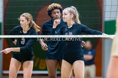Broughton volleyball Cap-7 champion tiebreaker match vs Cardinal Gibbons. October 23, 2019. D4S_9387