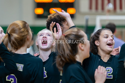 Broughton volleyball Cap-7 champion tiebreaker match vs Cardinal Gibbons. October 23, 2019. D4S_9308