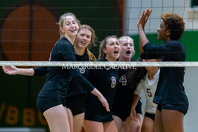 Broughton volleyball Cap-7 champion tiebreaker match vs Cardinal Gibbons. October 23, 2019. D4S_9373