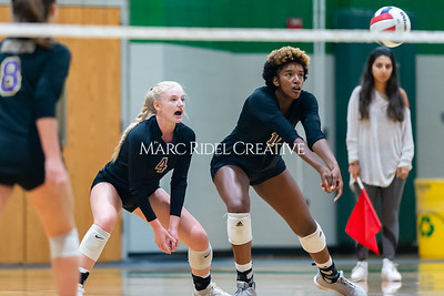 Broughton volleyball Cap-7 champion tiebreaker match vs Cardinal Gibbons. October 23, 2019. D4S_9453