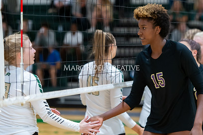 Broughton volleyball Cap-7 champion tiebreaker match vs Cardinal Gibbons. October 23, 2019. D4S_9349