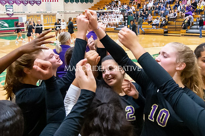 Broughton volleyball vs Green Hope. NCHSAA East Regional Finals November 4, 2019. D4S_4626