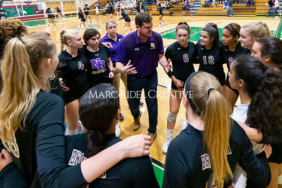 Broughton volleyball vs Green Hope. NCHSAA East Regional Finals November 4, 2019. D4S_4621