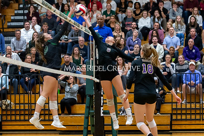 Broughton volleyball vs Green Hope. NCHSAA East Regional Finals November 4, 2019. D4S_4730