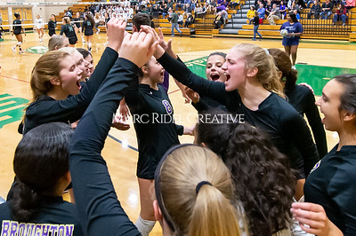Broughton volleyball vs Green Hope. NCHSAA East Regional Finals November 4, 2019. D4S_4624