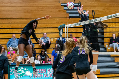 Broughton volleyball vs Green Hope. NCHSAA East Regional Finals November 4, 2019. D4S_4829