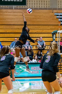 Broughton volleyball vs Green Hope. NCHSAA East Regional Finals November 4, 2019. D4S_4828