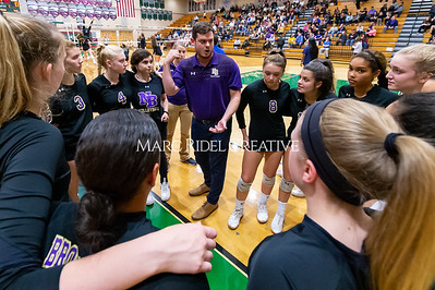 Broughton volleyball vs Green Hope. NCHSAA East Regional Finals November 4, 2019. D4S_4589