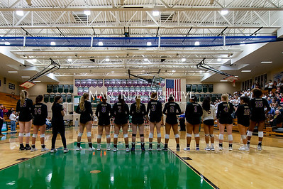 Broughton volleyball vs Green Hope. NCHSAA East Regional Finals November 4, 2019. D4S_4691