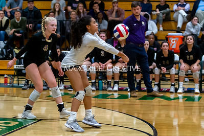 Broughton volleyball vs Green Hope. NCHSAA East Regional Finals November 4, 2019. D4S_4898