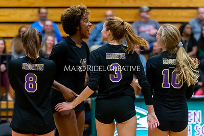 Broughton volleyball vs Green Hope. NCHSAA East Regional Finals November 4, 2019. D4S_4853