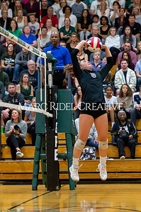 Broughton volleyball vs Green Hope. NCHSAA East Regional Finals November 4, 2019. D4S_4760