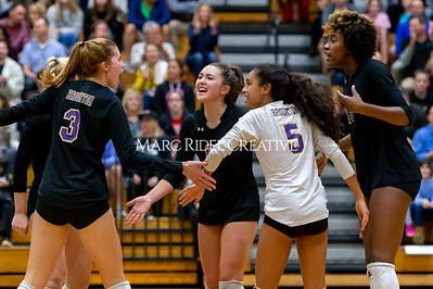 Broughton volleyball vs Green Hope. NCHSAA East Regional Finals November 4, 2019. D4S_4743