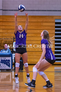 Broughton volleyball vs Southeast Raleigh. October 15, 2019. D4S_2399