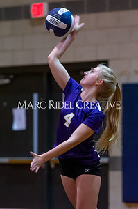 Broughton volleyball vs Southeast Raleigh. October 15, 2019. D4S_2468