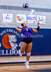 Broughton volleyball vs Southeast Raleigh. October 15, 2019. D4S_2508