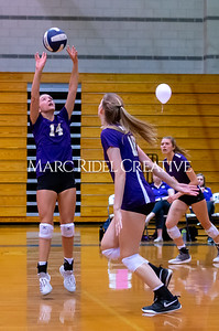 Broughton volleyball vs Southeast Raleigh. October 15, 2019. D4S_2472