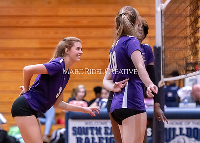 Broughton volleyball vs Southeast Raleigh. October 15, 2019. D4S_2522