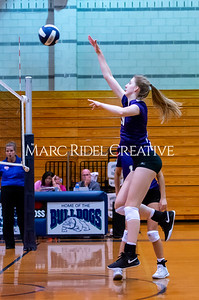 Broughton volleyball vs Southeast Raleigh. October 15, 2019. D4S_2492