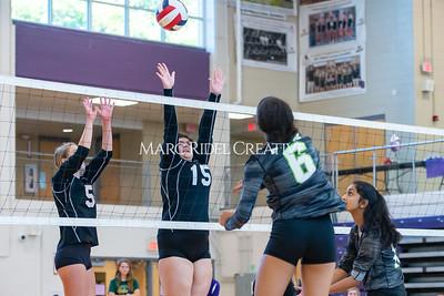Broughton volleyball vs. Enloe. Senior nIght. October 17, 2019. D4S_3558