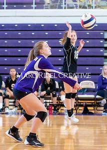 Broughton volleyball vs. Enloe. Senior nIght. October 17, 2019. D4S_3457