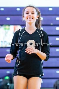 Broughton volleyball vs. Enloe. Senior nIght. October 17, 2019. D4S_3496