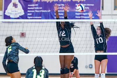 Broughton volleyball vs. Enloe. Senior nIght. October 17, 2019. D4S_3541