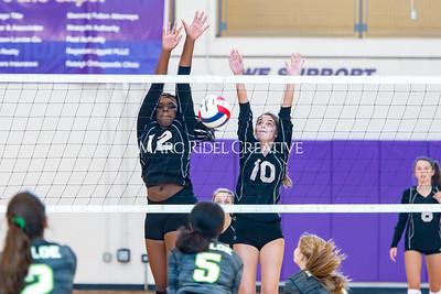 Broughton volleyball vs. Enloe. Senior nIght. October 17, 2019. D4S_3531