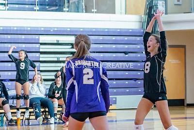 Broughton volleyball vs. Enloe. Senior nIght. October 17, 2019. D4S_3415