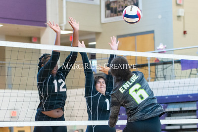 Broughton volleyball vs. Enloe. Senior nIght. October 17, 2019. D4S_3549