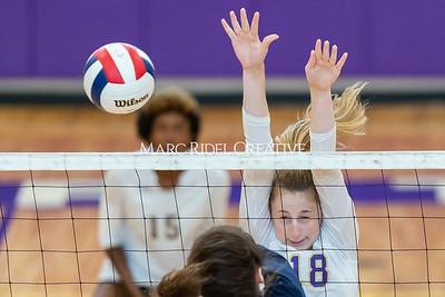 Broughton varsity volleyball vs Leesville. September 26, 2019. D4S_0476