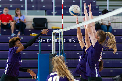 Broughton volleyball vs Pine Forest. Playoffs Round One October 26, 2019. D4S_2044