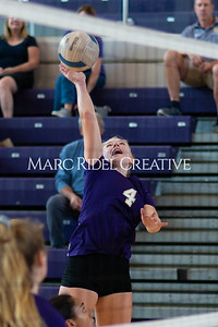 Broughton volleyball vs Pine Forest. Playoffs Round One October 26, 2019. D4S_2054