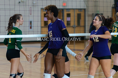 Broughton volleyball vs Pine Forest. Playoffs Round One October 26, 2019. D4S_2096