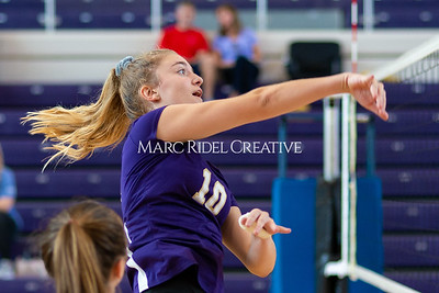Broughton volleyball vs Pine Forest. Playoffs Round One October 26, 2019. D4S_2052