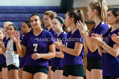 Broughton volleyball vs Pine Forest. Playoffs Round One October 26, 2019. D4S_2080