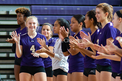 Broughton volleyball vs Pine Forest. Playoffs Round One October 26, 2019. D4S_2076