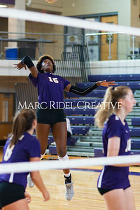 Broughton volleyball vs Pine Forest. Playoffs Round One October 26, 2019. D4S_2071