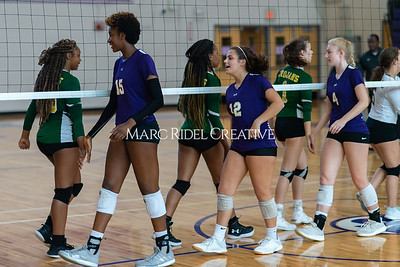 Broughton volleyball vs Pine Forest. Playoffs Round One October 26, 2019. D4S_2097