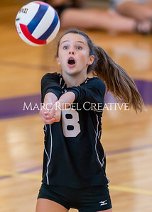 Broughton volleyball vs Sanderson. October 3, 2019. D4S_3562